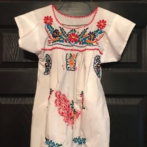 Other - Mexican Fiesta Dress from Mexico. Size 8/10